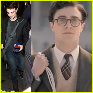Daniel Radcliffe's 'Kill Your Darlings' Teaser - Watch Now!