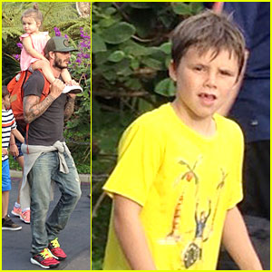 David Beckham: Legoland with the Kids!