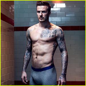 David Beckham: Shirtless for H&M Bodywear Campaign!