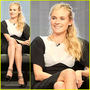 Diane Kruger: 'The Bridge' at FX's Summer TCA Tour!
