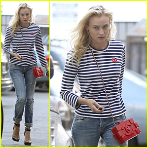 Diane Kruger: V Wine Room Drinks After 'Bridge' Filming!
