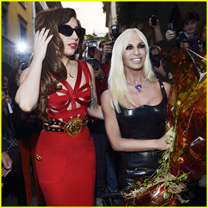 Donatella Versace Thanks Lady Gaga for 'ARTPOP' Song! (Exclusive)