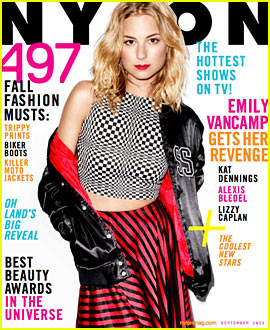 Emily VanCamp Covers 'Nylon' Fall Fashion September 2013