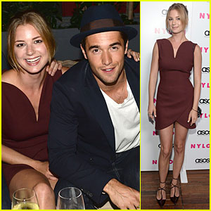 Emily VanCamp & Josh Bowman: Nylon September Cover Party!