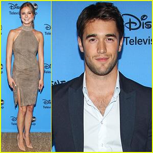 Emily VanCamp & Josh Bowman: TCA's Disney/ABC Party!