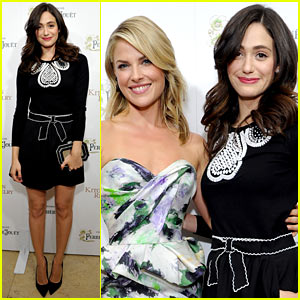 Emmy Rossum: Ali Larter's Cookbook Celebration!