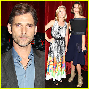 Eric Bana & Julia Stiles: 'Closed Circuit' NYC Screening!
