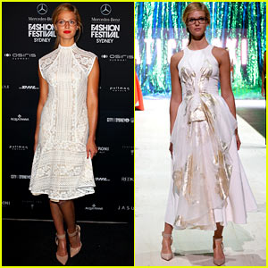 Erin Heatherton: Trends Fashion Week Show in Sydney!