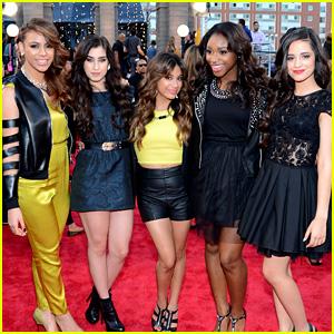 Fifth Harmony - MTV VMAs 2013 Red Carpet