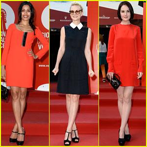 Freida Pinto & Carey Mulligan: Miu Miu Women's Tales for Venice Film Fest!