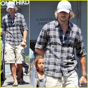 Gabriel Aubry: Joan's on Third Lunch with Nahla!