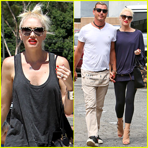 Gwen Stefani & Gavin Rossdale Hold Hands at Hugo's