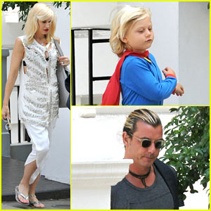 Gwen Stefani & Gavin Rossdale: Zuma's Birthday Celebrations!