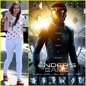 Hailee Steinfeld: New 'Ender's Game' Poster!
