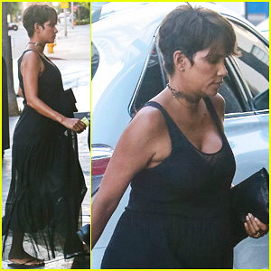 Halle Berry Steps Out Solo After Legoland Family Fun!