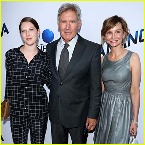 Harrison Ford: 'Paranoia' Premiere with Calista Flockhart!