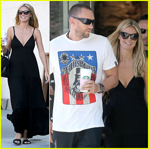 Heidi Klum: Happy Heart with Martin Kirsten!