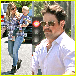 Hilary Duff & Mike Comrie Start Weekend with Groceries!