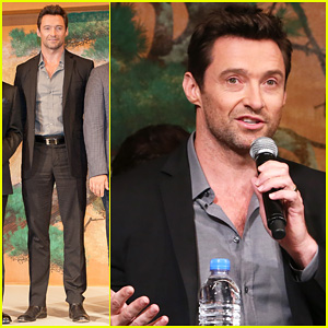 Hugh Jackman: 'Wolverine' Japan Press Conference!