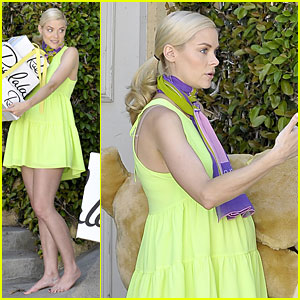 Jaime King Receives Gifts with Growing Baby Bump!