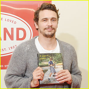 James Franco: 'A California Childhood' Book Signing!
