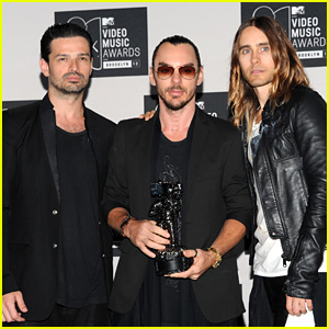 Jared Leto - MTV VMAs 2013 with Thirty Seconds to Mars!