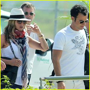 Jennifer Aniston & Justin Theroux Wrap Up Cabo Vacation