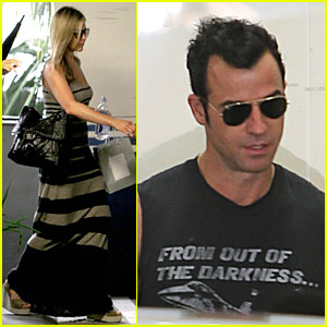 Jennifer Aniston Plans Justin Theroux's Birthday Party!