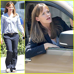 Jennifer Garner: 'Alexander' Set with Steve Carell!