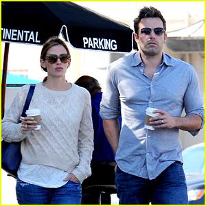 Jennifer Garner & Ben Affleck Share Romantic Weekend Lunch