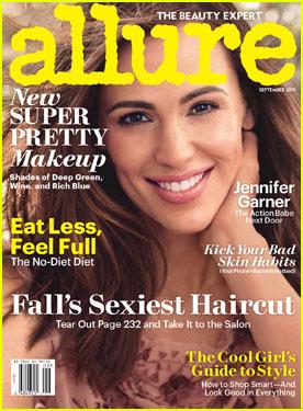 Jennifer Garner Smiles for 'Allure' Magazine September 2013