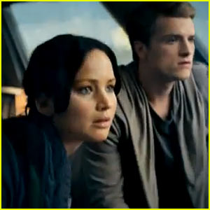 Jennifer Lawrence: New 'Hunger Games: Catching Fire' Trailer!