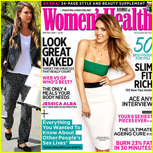 Jessica Alba: I Have Cellulite, Stretch Marks & a Muffin Top!