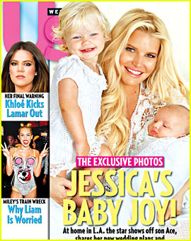 Jessica Simpson Debuts Baby Boy Ace!