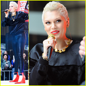Jessie J: 'Wild' & 'Price Tag' Live On 'Sunrise'!