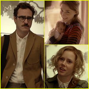 Joaquin Phoenix & Scarlett Johansson: 'Her' Trailer!