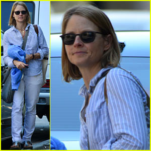 Jodie Foster: 'Orange...Black' Star Talks Working with Jodie!