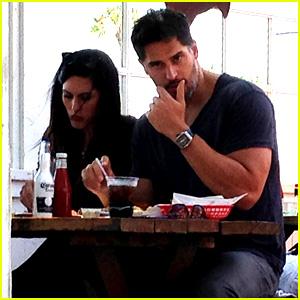 Joe Manganiello Grabs Lunch with Girlfriend Bridget Peters