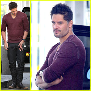 Joe Manganiello Shares Licking Requests on 'Extra'!