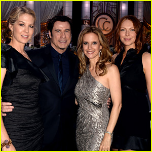 John Travolta & Laura Prepon: Church of Scientology Gala