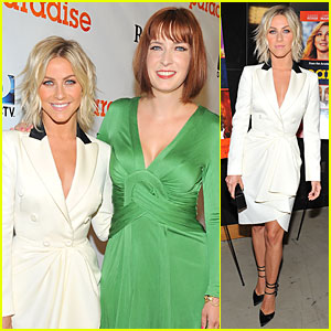 Julianne Hough: 'Paradise' Hollywood Premiere with Diablo Cody!