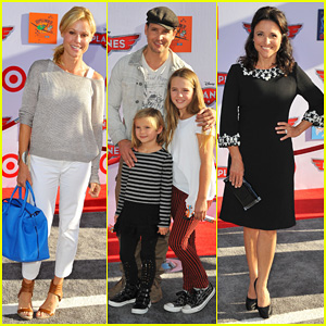 Julie Bowen & Peter Facinelli: 'Planes' Hollywood Premiere!