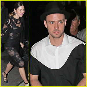Justin Timberlake & Jessica Biel - MTV VMAs 2013 After Party!