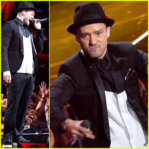 Justin Timberlake: VMAs 2013 Performance - WATCH NOW!