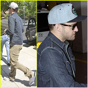 Justin Timberlake Steps Out After Defending Miley Cyrus
