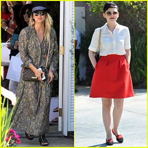 Kaley Cuoco & Ginnifer Goodwin: Private Party in Brentwood!