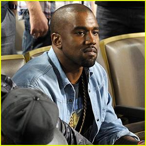 Kanye West: Dodgers Game After Kim Kardashian Steps Out