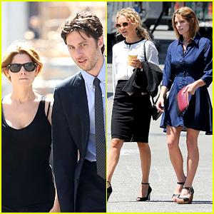 Kate Hudson & Ashley Greene Film 'Wish I Was Here'