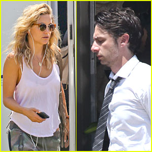 Kate Hudson: 'Wish I Was Here' Set with Zach Braff!