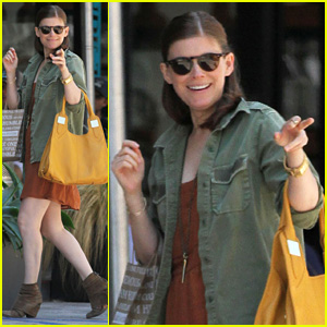 Kate Mara Raves About 'The Spectacular Now' on Twitter